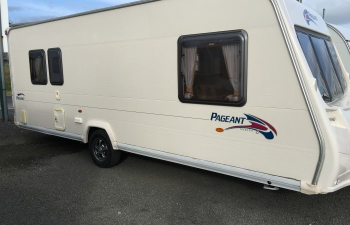 Bailey Pageant Vendee 2006 Fixed Rear Bed 4 Berth